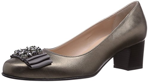 Cleo Avant Chaussures Gris Couvert Gris Pieds Femme du Diavolezza Talons à 7wqndPcxgT