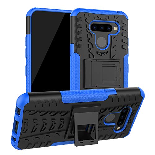 Labanema LG Q60 /LG K50 Hülle, Abdeckung Cover schutzhülle Tough Strong Rugged Shock Proof Heavy Duty Case Für LG Q60 /LG K50 - Blau