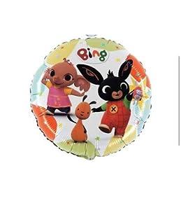 """anagram balón de papel de aluminio 18""""""""-45cm Bing & friends-non confeccionada, Multicolor, 7al18033"""