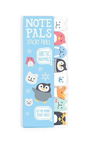 international-arrivals-llc-note-pals-arctic-tiere-sticky-note-pad