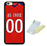 Coque silicone BUMPER souple IPHONE 6 PLUS / 6s PLUS -Football LILLE 2018/2019...