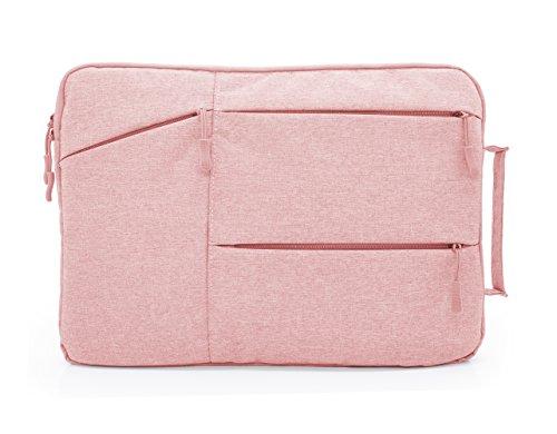MyGadget 13-13,3 Zoll Laptoptasche Schutzhülle Laptop Sleeve Tasche - mit weichen Inlay - Notebook Hülle für u.a. Apple MacBook Air/Pro in Rosa