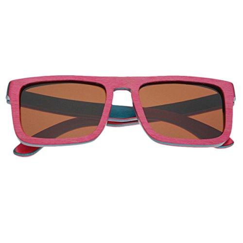 HAOYUXIANG / Bambus / Farbe Bar / Polarisation / Freizeit / Outdoor / Sonnenbrille,C2