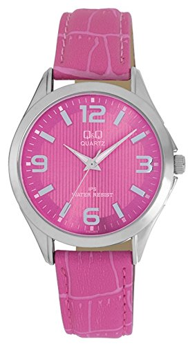 Q&Q Regular Analog Pink Dial Men's Watch - C192J315Y image