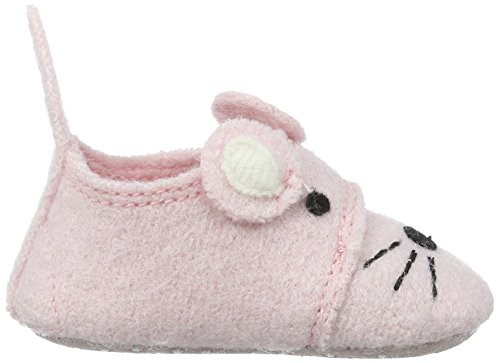 """Living Kitzbühel """"Newborn"""" Gesicht Mäusschen, Chaussons pour enfant bébé fille Rose - Pink (Rosa 303)"""