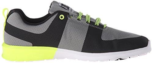 Baixos Top Sapatos Casuais Amarelo Cinza Dc Homens Lynx Lite fqgwAP1A