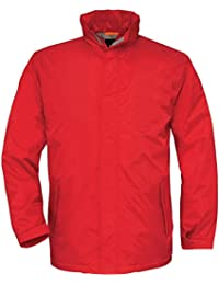 B&C Collection Mens Thermal Micro Fleece Ocean Shore Jacket Adults Raincoat