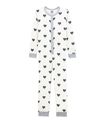 Petit Bateau Mädchen Combinaison NUIT_4356201 Einteiliger Schlafanzug, Mehrfarbig (Marshmallow/Astro 01), 116
