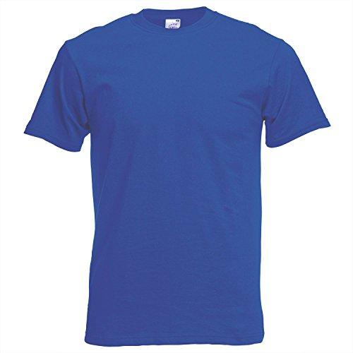 Fruit of the Loom Herren T-Shirt Royal