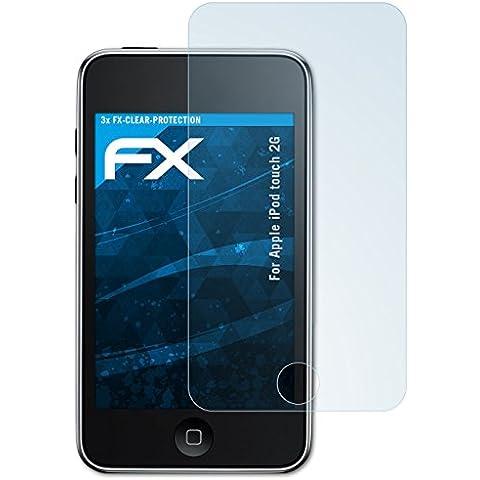 3 x atFoliX Protezione Pellicola dello Schermo