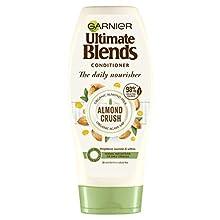 Garnier Ultimate Blends Conditioner | Mandelcrush mit Mandelmilch & Agavensaft tägliche Pflege für normales Haar | 360 ml