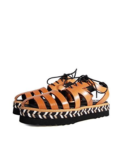 Farewell X606 Sandals Natural Tressées Sandales-Marron Marron - Marron