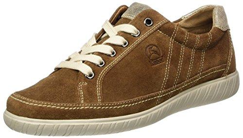 Gabor Damen Comfort Sneaker Braun (ranch / Space 44)