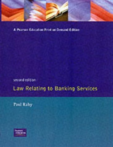 Law Relating to Banking Services (Books for Associateship Examinations) by Paul (Assistant Manger Raby (1992-09-03)