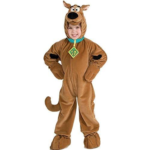 Kinder Scoobydoo Kostüm - Rubie's Scooby DOO-Kostüm für Kinder Karneval braun 98/104 (3-4 Jahre)