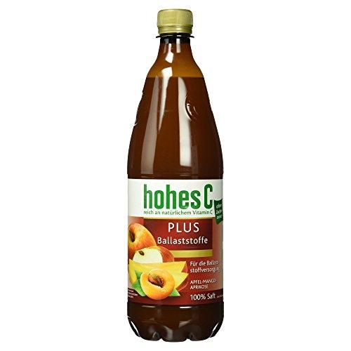 Hohes C - PLUS Ballaststoffe Mehrfruchtsaft Apfelsaft - 1,0l (Apfelsaft 1 Liter)
