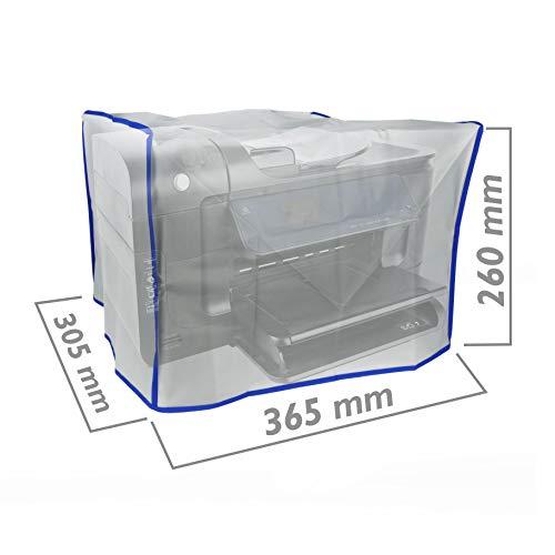 PrimeMatik AC10-VCES Abdeckhaube für Universal-Laserdrucker, 365 x 305 x 260 mm, durchscheinend