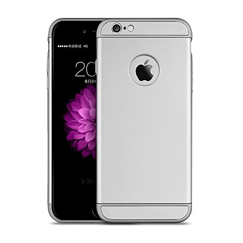 silver-case-for-iphone-6s-ultra-slim-matte-complete-protection-case-and-screen-protector-for-iphone-