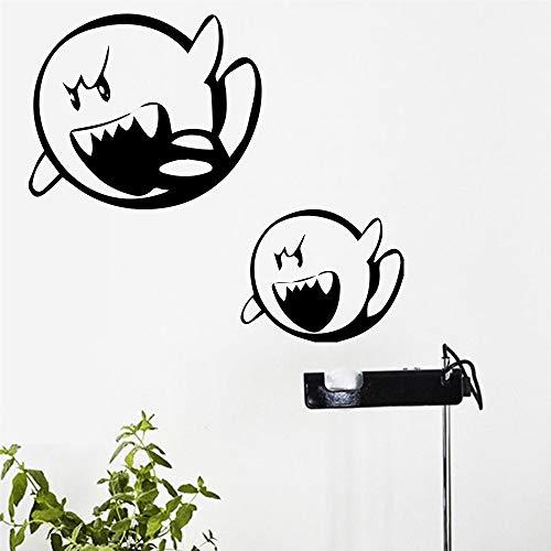 Wandtattoo Schlafzimmer Wandaufkleber Schlafzimmer Niedliche Halloween Party Dekoration Monster für Kinderzimmer Kinderzimmer ()