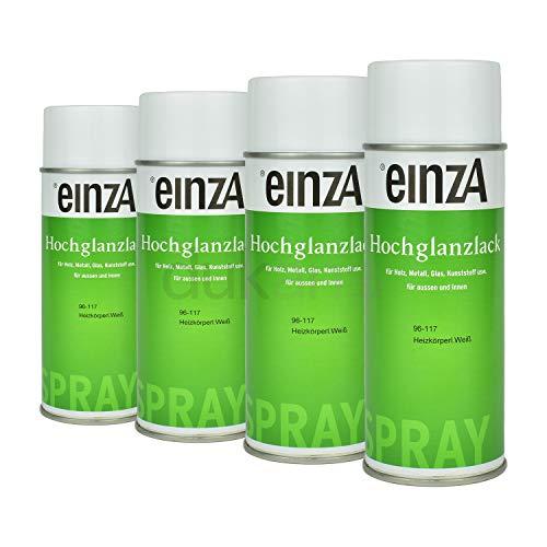 EinzA 4x 400ML Alpha-C-Radiador Spray Laca