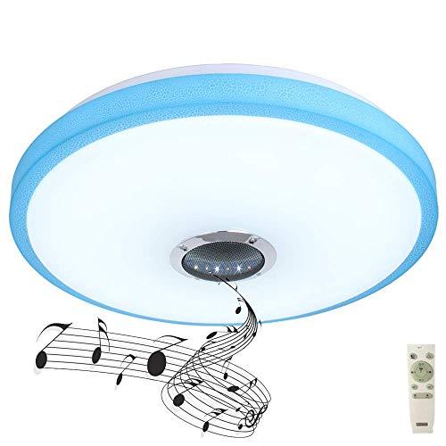 Luz de techo con altavoz Bluetooth 36W, luz de techo con control...