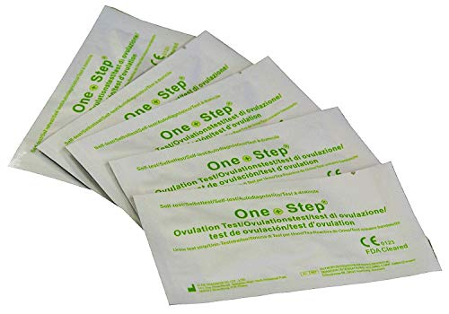 One Step® 50 Highly Sensitive Ovulation/Fertility Tests - 20miu/ml Ovulation Tests