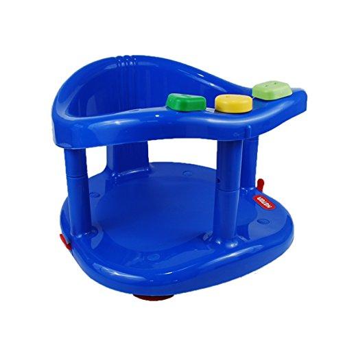 Keter Seggiolino Anello Vasca da bagno neonato neonato Sedia di sicurezza per bambini di colore blu scuro
