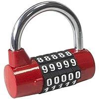 Am-Tech T1144 - Candado de combinación de 5 dígitos