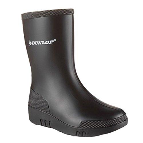 Dunlop Mini Childrens Unisexe Noir Bottes