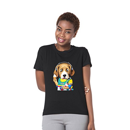 PRIAMS 7 Mädchen Schlauch T-Shirt Gr. 56, schwarz