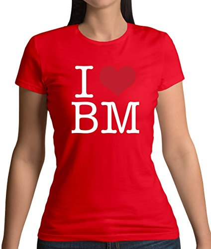 Dressdown I Heart BM - Womens T-Shirt - 4 Colours