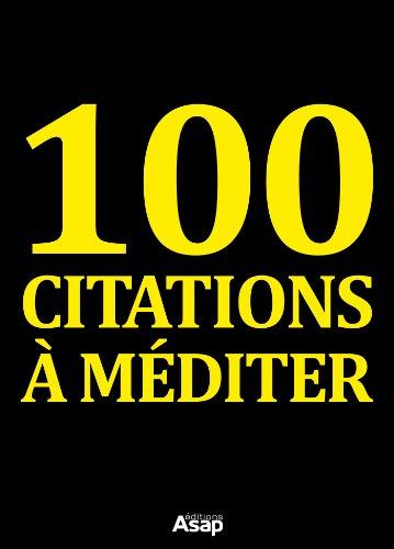100 citations à méditer