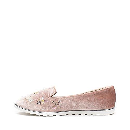 Chaussures Femme Idéales Rose Idéales Chaussures Mocassin dw6cqUZz