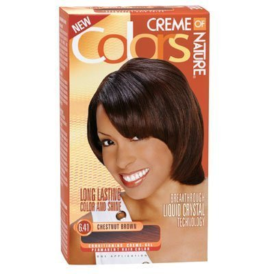 Creme of Nature colour long lasting 6.41 chestnut brown