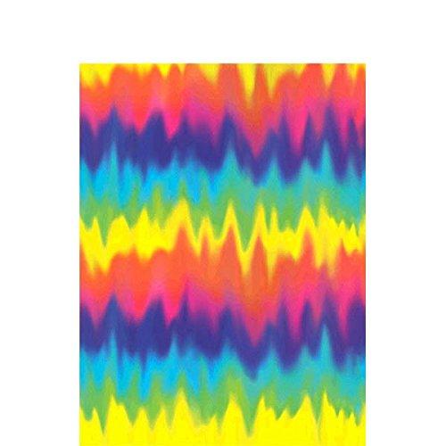 m 60er Groovy Papier Tisch Cover (Halloween Bunting Muster)