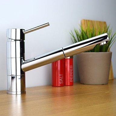 Lucid American Standard Küchenarmatur Zeitgenössisch Mit ausziehbarer Brause Messing Chrom (American Standard Küchenarmatur)