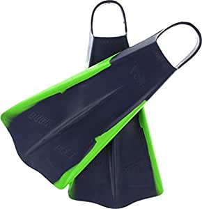 Voit Duck Feet Swim Fins [Small 5-7] Green/Blue by Voit