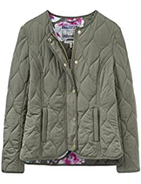 Joules Womens/Ladies Gisella Collarless Quilt Padded Casual Jacket