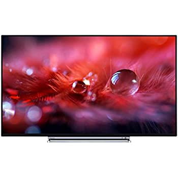 Toshiba 55U5766DB 55-Inch 4K Ultra HD LED Smart TV with Freeview Play - Black TV with a chrome surround (2017 Model)