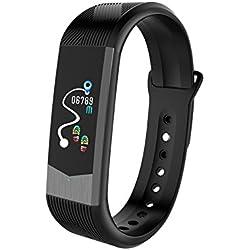 B30 Mode Sport 3D UI Herzfrequenz Farb-Bildschirm Smart-Armband App Erinnerung Schrittzähler Blutdruck Armband Sport Fitness Armband