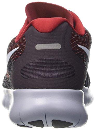 Nike Herren Free Rn 2017 Laufschuhe Mehrfarbig (nero / Blu Di Idrogeno / Rosso Duro / Vino Porto / Ghiacciaio Grigio)
