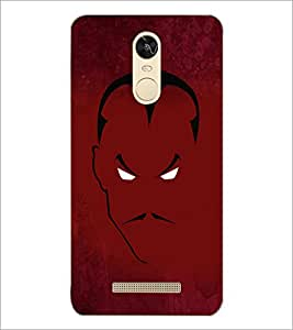 PrintDhaba Sketch D-4501 Back Case Cover for XIAOMI REDMI NOTE 3 (MEDIATEK) (Multi-Coloured)