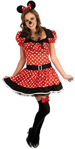 Missy Maus Kostüm für Erwachsene (2393), (Maus Kostüme Missy)