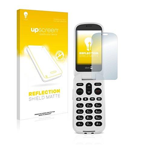 upscreen Reflection Shield Matte Bildschirmschutz Schutzfolie für Doro 6050 (matt - entspiegelt, hoher Kratzschutz)