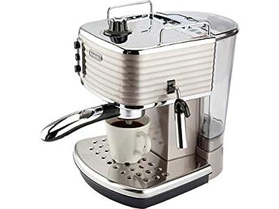 DELONGHI Scultura ECZ351BG Espresso Machine Champagne Coffee Machine (Certified Refurbished) by De'Longhi