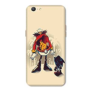 HappyGrumpy Mobile Back Cover for OPPO A57