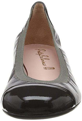 Pretty Ballerinas Damen Shirley Ballerina Grey (Honey Jasper Coton Canan)