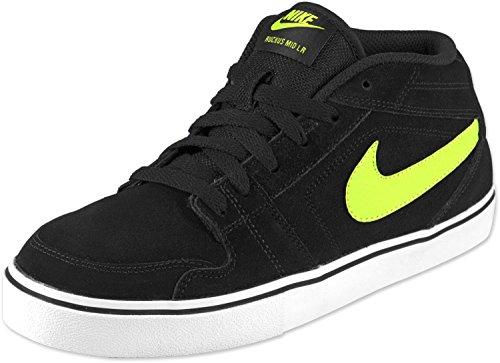 Nike Ruckus MID LR HI Sneaker/Freizeitschuh, Black/Atomic gre6en-natural Grey, EU 39 (US6.5) - Nike-ruckus