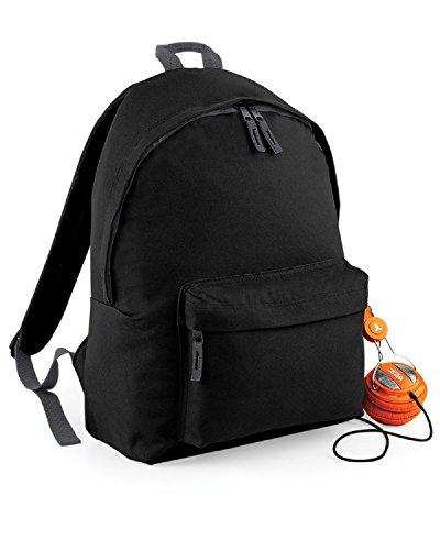 Bag base - Sac à dos junior fashion école loisirs - BG125J - noir - 14L - enfant