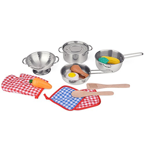 Cooking Master 15 Piece Toy Pan Set